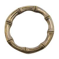 Кольца металлические декоративные